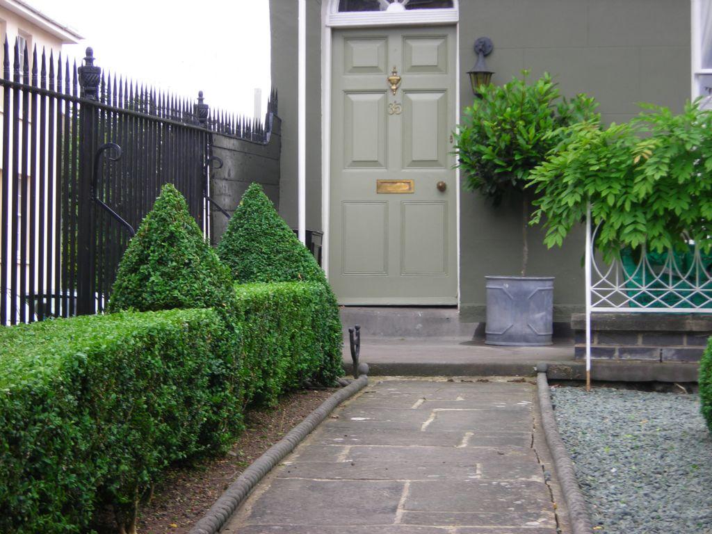 upto front door