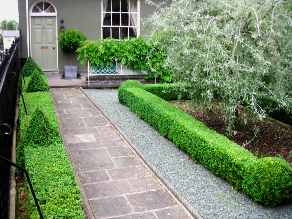 Garden hedge designs images galleries for Front garden ideas